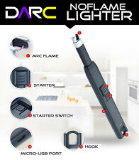 DARC USB Rechargeable Kitchen Stove Candle Electric Single ARC BBQ Lighter - NEW