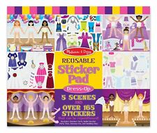 Melissa and Doug Reusable Sticker Pad - Dress up Sticker Pad