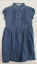 DKNY Little Girls Button-Front Denim Dress US Size 4T NWT