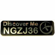 Magnetic Car Trackable Geocache Geocaching Trackable – Discover Me (Travel Bug)