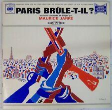 Paris Brule-t-il 33 tours Maurice Jarre 1966