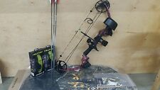 MISSION 2015 CRAZE RIGHT HAND  PINK NEW IN BOX MATHEWS FULL PACKAGE WITH CASE