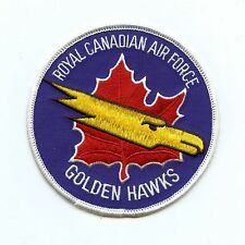 RCAF CAF Canadian Golden Hawks Squadron Colour Crest Patch 2
