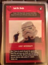 Star Wars CCG BB Premiere Limited Look Sir, Droids NrMint-MINT SWCCG