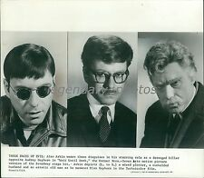 1967 Alan Arkin as Plotter, Husband and Old Man Original News Service Photo