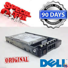 "Dell Poweredge R320 R420 R620 hard drive 300GB 10K RPM 2.5"" SAS 6Gbps & Caddy"