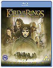 LORD OF THE RINGS FELLOWSHIP RING - NEW AND SEALED BLU-RAY (FREE 1st Class Post)