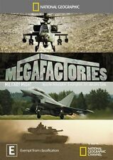 National Geographic: Megafactories - Military Might NEW R4 DVD