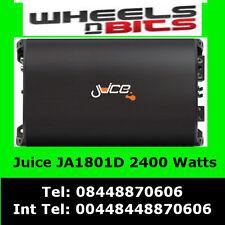 2400 Watt Classe D Juice Ja1801D Amplificateur Auto pour Caisson De Basse