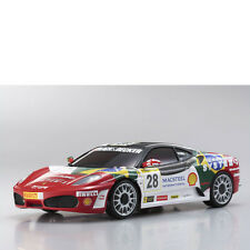 Mini-Z Karosserie 1:24 MR-03 Ferrari F430 No 28 Kyosho MZP-312-BS # 706472
