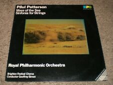 Paul Patterson Mass Of The Sea Geoffrey Simon~RARE 1987 UK Import Classical~FAST