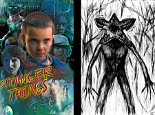 Stranger Things Eleven Demogorgon 2 print lot 11 x 17 High Quality Poster