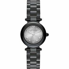 NWT Marc by Marc Jacobs Women's Dotty Black Stainless Steel Watch MJ3453 $275
