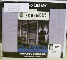 Schemers by Bill Pronzini UNABRIDGED on CD (Nameless series)