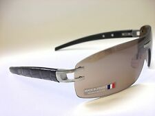 Tag Heuer L TYPE LW TH0452 201 Alligator Brown Leather/Brown Outdoor Sunglasses