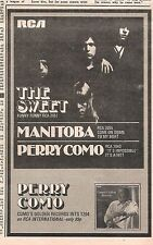 The Sweet Funny Funny (Perry Como) 1971 small UK Press ADVERT 8x5 inches