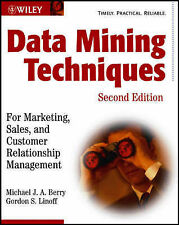 Data Mining Techniques: for Marketing, Sales and Customer Relationship...