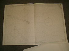 Vintage Admiralty Chart 782 PACIFIC OCEAN - NORTH EAST SHEET 1982 edn
