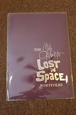 """RARE LOST IN SPACE PORTFOLIO BY MIKE OKAMOTO  11"""" x 17"""" (Innovation Publishing)"""