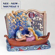 "DISNEY - Sculpture ""STORYBOOK - RAIPONCE ET FLYNN"" Jim Shore Figurine 4043625"