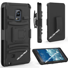 Belt Clip Holster w/Kickstand Hard Case Cover Skin For Samsung Galaxy Note Edge