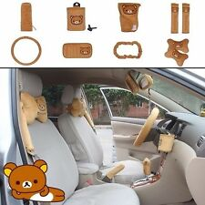 NEW Rilakkuma Car Accessories 10 PCS