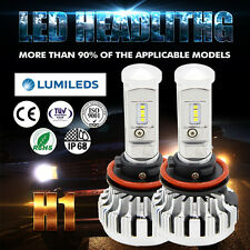 PHILIPS 18000LM 180W H1 LED Headlight Bulb  Lamp Conversion Kit 6000K Canbus NEW