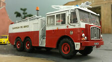 1:76 HO/OO/00 Thornycroft Nubian Airport Airfield Crash Rescue Fire Engine Model