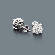 Ohrstecker Diamanten 585er Weißgold 0,66 ct. Wesselton SI Neu Goldschmuck