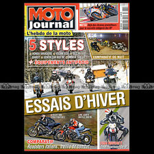 MOTO JOURNAL N°1882 DUCATI 1100 HYPERMOTARD EVO SP & STREETFIGHTER S KENNY NOYES