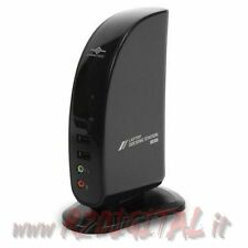 DOCKING STATION VANTEC CON USCITA VIDEO PC NOTEBOOK LAN USB DVI LAPTOP PORTATILE