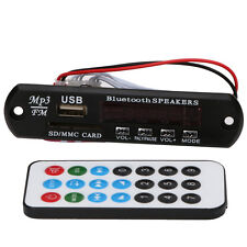 Remote Control USB SD FM MP3 Player Module Bluetooth Audio Receiver Module 12V