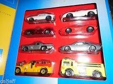 HOT WHEELS THEN & NOW 1967 & 1993 Camaro Ferrari 250 1957 T-Bird TARGET BOX SET