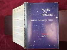 IMMANUEL KANT: ACTING on PRINCIPLE: KANTIAN ETHICS by ONORA NELL/GERMANY/1975
