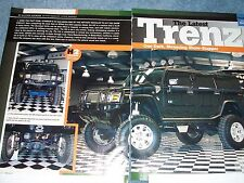 """2003 Hummer H2 Custom Lifted Article """"The Latest Trenz"""""""
