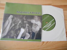 """7"""" punk mainstrike-Can you believe it (4) canzone Crucial response SXE"""