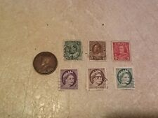 1 Cent 1912 Canada Stamp Canada George V 1 3 cent 1912 & Queen 1 2 4 cent 1950