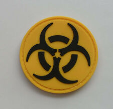 Hot  Resident Evil - BIOHAZARD LOGO PVC 3D Rubber   Patch 2 Shapes    SJK 6
