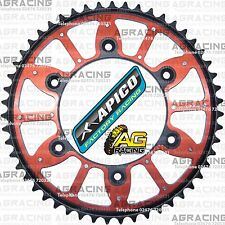 Apico Xtreme Red Black Rear Alloy Steel Sprocket 51T For Honda CR 125 1991 MotoX