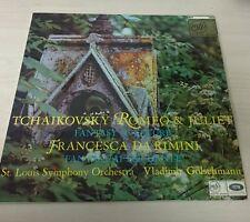 Tchaikovsky - Romeo & Juliet - Fantasy Overture - Francesca Da Rimini - Vinyl LP