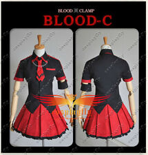 Blood C Kisaragi Saya Cosplay Costume Dress Custom Size