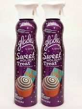 2 Cans Glade SWEET HOLIDAY TREAT  Air Freshener Room Spray WINTER HOLIDAYS
