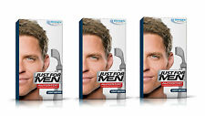 3 Just For Men AutoStop Ready to Use Mens Hair Colour Dye Auto Stop LIGHT  BROWN