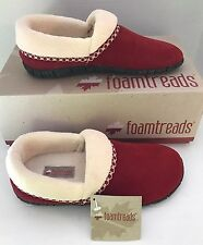 New Foamtreads Canada Dinali Women Winter Shoes Slip Tribal Lined Leather Red 5