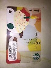Birthday Candle Latte With Cream - USA Starbucks Card - 2012 Coffee Card - 6079