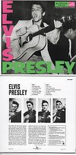 CD Elvis PRESLEY Elvis Presley (1956) - Mini LP REPLICA - 12-track CARD SLEEVE