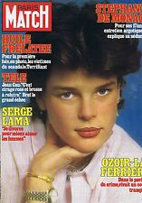 Couverture magazine,Coverage Paris-Match 12/02/82 Stéphanie de Monaco