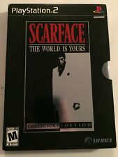 Scarface: The World is Yours (Collectors Edition) (PlayStation 2, PS2)Complete