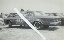 "1960s NHRA Drag Racing-1962 Plymouth 413 Max Wedge-""CAPE COD SPECIAL""-Tasca Ford"