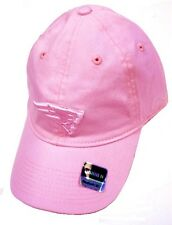 New England Patriots NFL Pink w/ Pink Logo Slouch Hat Cap Womens Breast Cancer